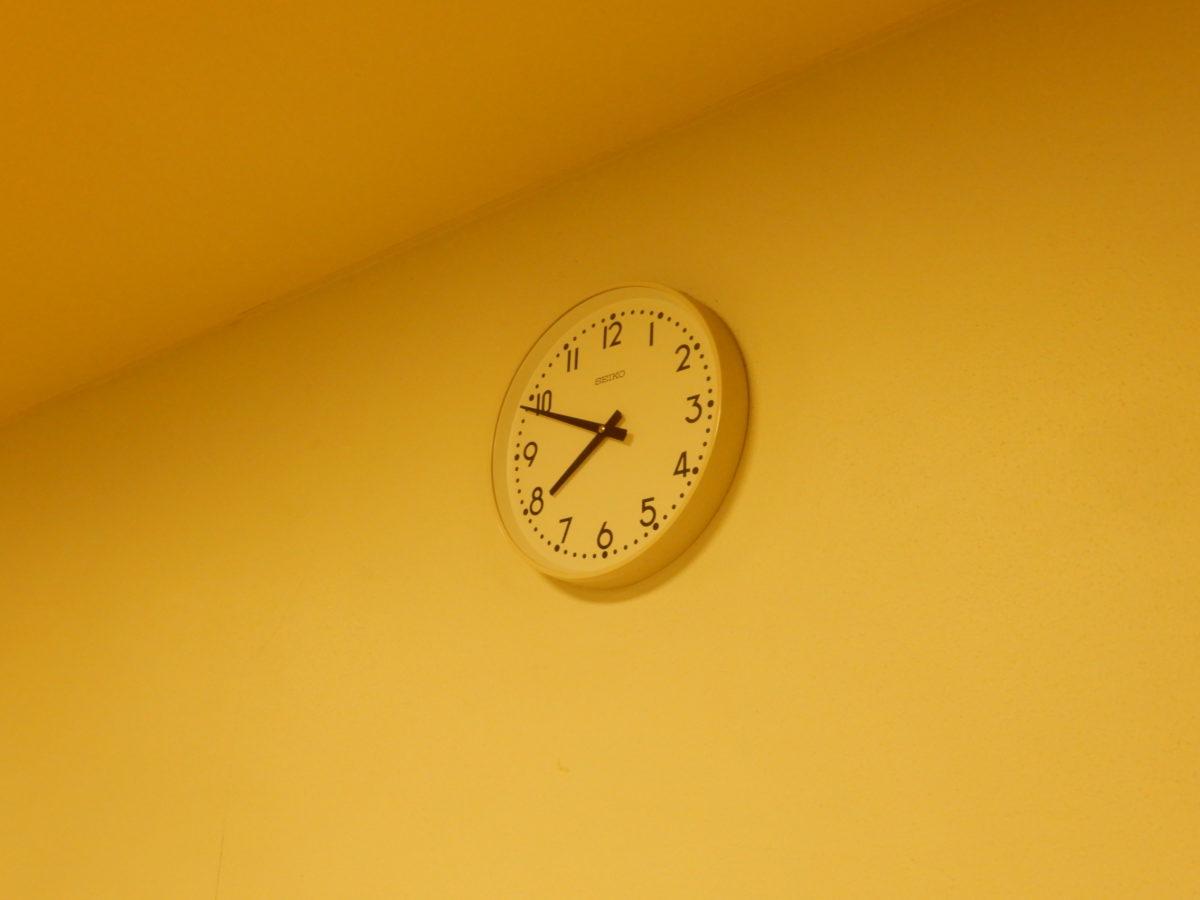 おやべ温泉 タワーの湯 時計