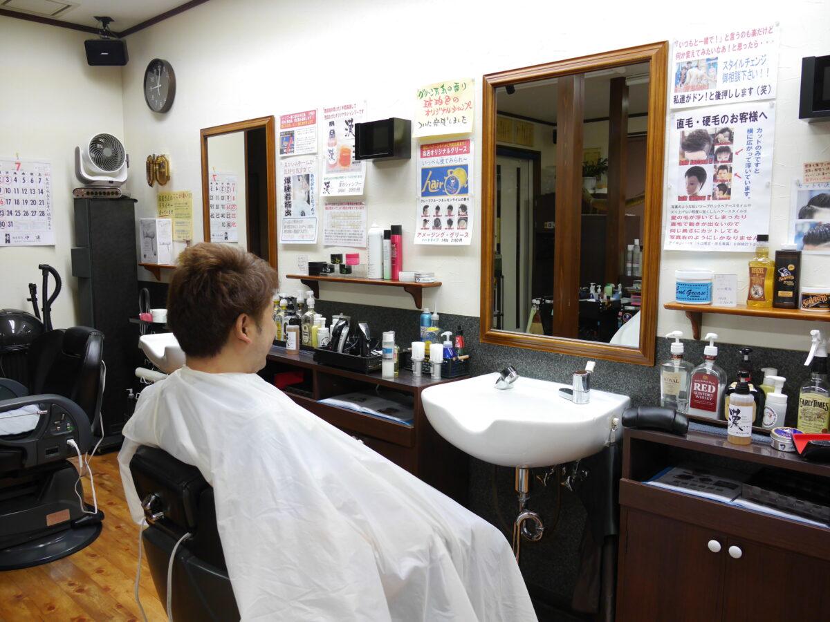 椅子も背中も毛だらけ