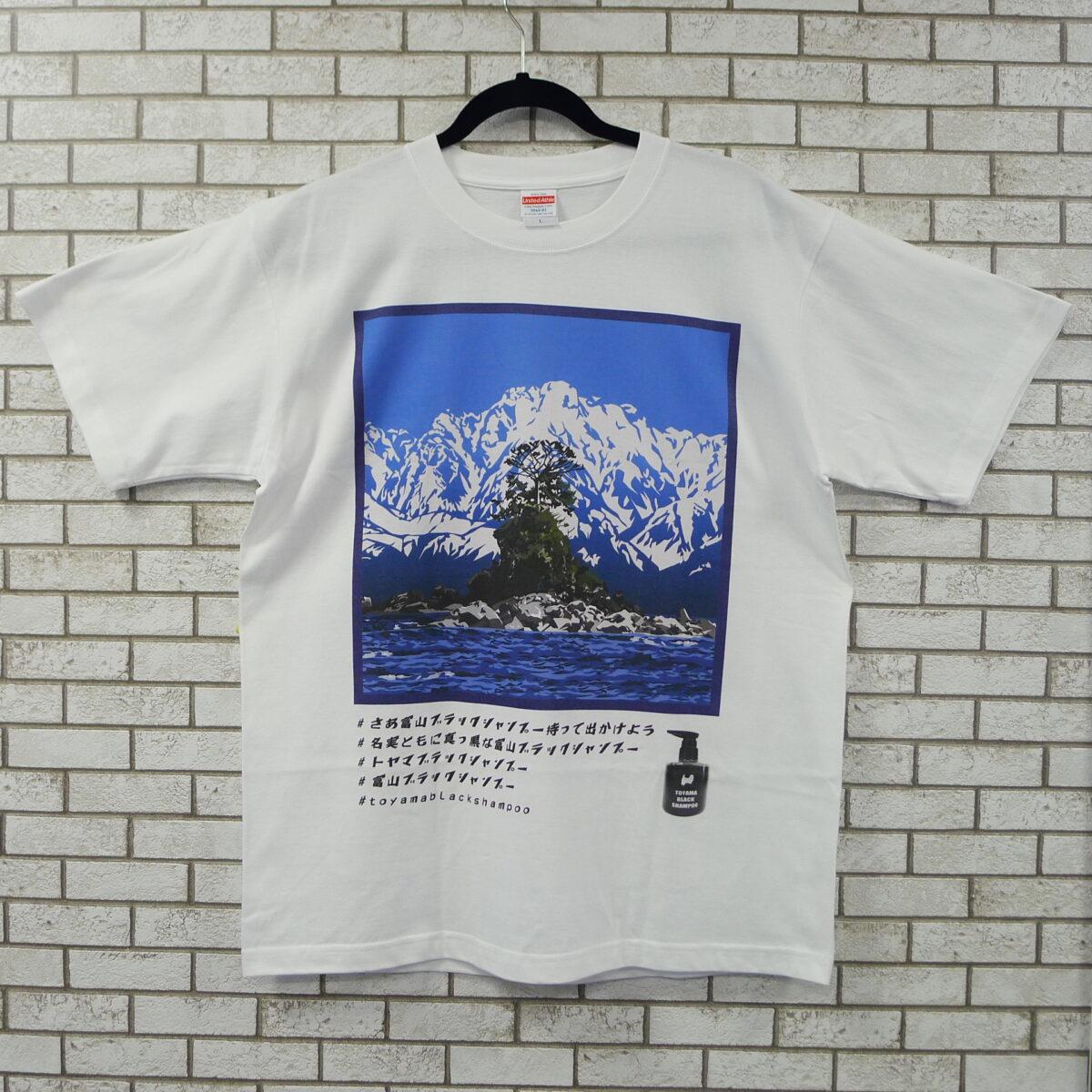 雨晴海岸&女岩Tシャツ