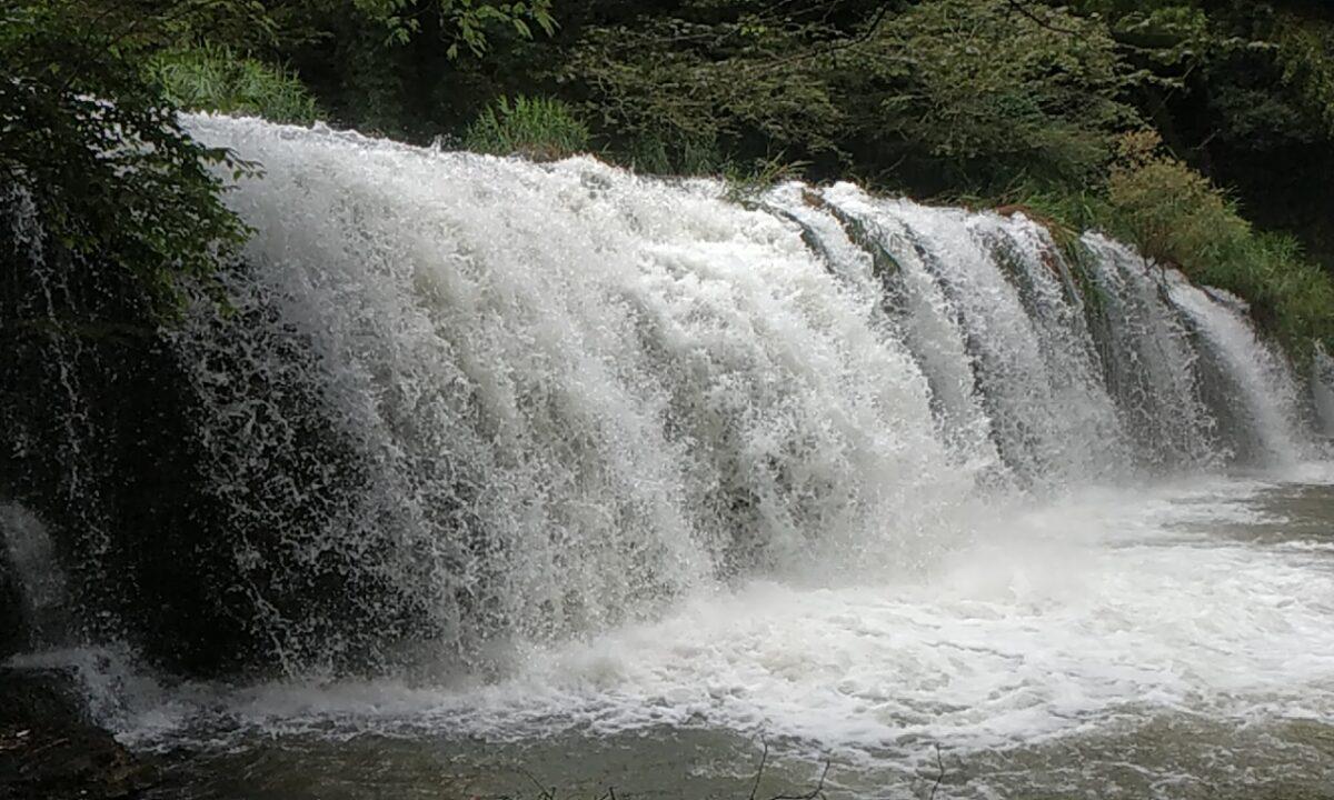 宮島峡(一の滝・二の滝)